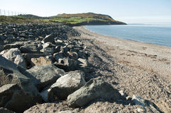 Greystone's Beach, Ireland Royalty Free Stock Photos