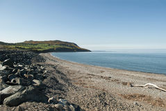 Greystones Strand, Irland Lizenzfreies Stockbild