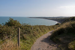 Greystones to Bray Cliff Walk Royalty Free Stock Photography