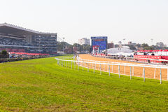 Greyville Grass Poly Synthetic Tracks Stock Photography