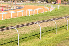 Greyville Grass Poly Synthetic Tracks Stock Photo
