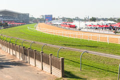 Greyville Grass Poly Synthetic Tracks Stock Images
