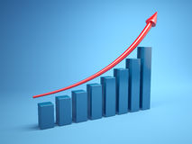 Gráfico Foto de Stock