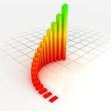 Gráfico da cor Imagem de Stock Royalty Free