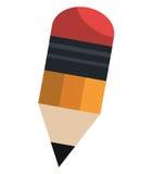 Gráfico liso do ícone do utensílio da escola Fotografia de Stock