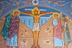 Gráfico religioso Imágenes de archivo libres de regalías