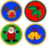 Gráficos de la Navidad Foto de archivo libre de regalías