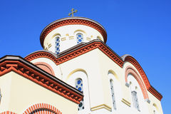 Grgetegklooster Servisch Orthodox klooster (1717) in Grgeteg binnen Royalty-vrije Stock Afbeelding