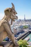 Gárgola París Foto de archivo