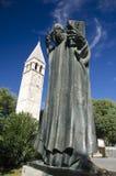 Grgur. Statue of gregory of nin, split croatia royalty free stock image