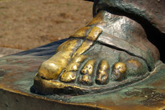 Grgur Ninski Statue Stock Images