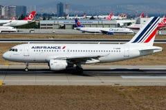 Φ-GRHB Air France, airbus A319-100 Στοκ Φωτογραφία
