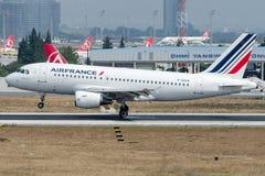 Φ-GRHO Air France, airbus A319-100 Στοκ Φωτογραφία