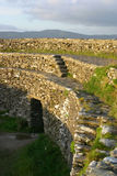 An Grianan. Ancient First Century stone Fort in County Donegal Royalty Free Stock Image