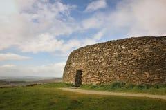 Grianan av Aileach eller det Greenan fortet Inishowen Ståndsmässiga Donegal ireland arkivbilder