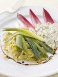 gribiche vinaigrette σάλτσας πράσων Στοκ φωτογραφία με δικαίωμα ελεύθερης χρήσης