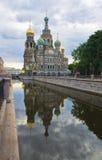 Griboedov渠道在圣彼得堡 免版税库存照片