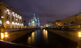 Griboedov Canal Royalty Free Stock Image