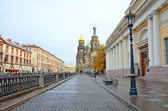 Griboedov Canal embankment Royalty Free Stock Photography
