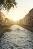 Griboedov kanal arkivfoto