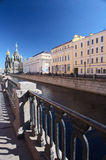 Griboedovakade, St. Petersburg, Rusland Stock Afbeelding