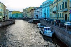 Griboedovkanaal van heilige-Petersburg Rusland royalty-vrije stock afbeelding