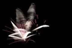 Gribouillis roses Photo libre de droits