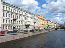 Griboyedov canal in Saint Petersburg, Russia. Saint Petersburg, Russia - August, 2016: Griboyedov canal in Saint Petersburg. Tourism. Journey Stock Images