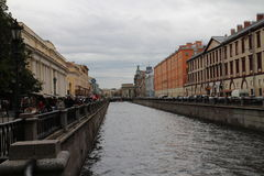 Griboyedov canal in  Saint Petersburg Stock Images