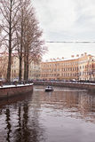 Griboyedov Canal. Winter Royalty Free Stock Image