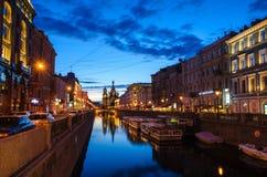 Griboyedov kanal Arkivbilder