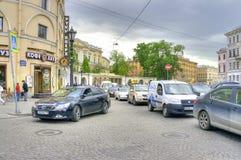 Griboyedov Kanal-Damm Lizenzfreie Stockfotografie