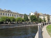 Griboyedov-Kanal im St Petersburg Stockbilder
