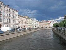 Griboyedov-Kanal in St Petersburg Lizenzfreies Stockbild