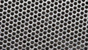 Grid. Metallic grid (macro Royalty Free Stock Photo