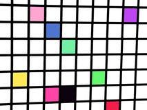 Grid. Color's grid royalty free illustration