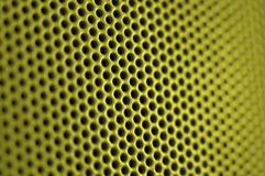 Grid. Close up of a green grid royalty free stock image