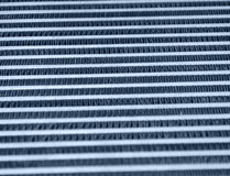 Grid from airplane radiator Royalty Free Stock Photos