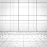 Grid background perspective view Stock Image