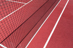 Grid on badminton courts stock photo
