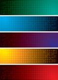 Grid band Stock Image