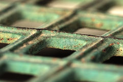 Grid,metal,cross,net,blur,rust Stock Images