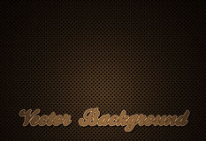 Grid brown background Royalty Free Stock Images