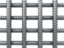 Grid of the Building armature Stock Photo