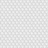 Grid from concentric semicircles. Stock Photo