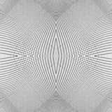 Grid of dynamic lines. Seamlessly repeatable mesh pattern. Disto Royalty Free Stock Photo