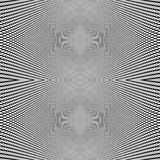 Grid of dynamic lines. Seamlessly repeatable mesh pattern. Disto Royalty Free Stock Images