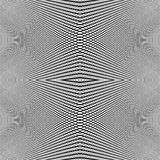 Grid of dynamic lines. Seamlessly repeatable mesh pattern. Disto Royalty Free Stock Image