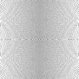 Grid of dynamic lines. Seamlessly repeatable mesh pattern. Disto royalty free illustration