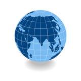 Grid earth globe icon Stock Image